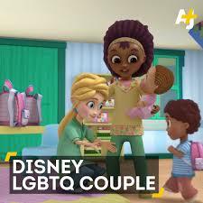 Disney Show presenta a una pareja lesbiana interracial